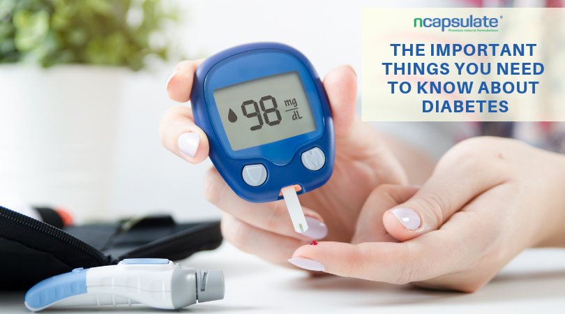 THE IMPORTANT THINGS YOU NEED TO KNOW ABOUT DIABETES