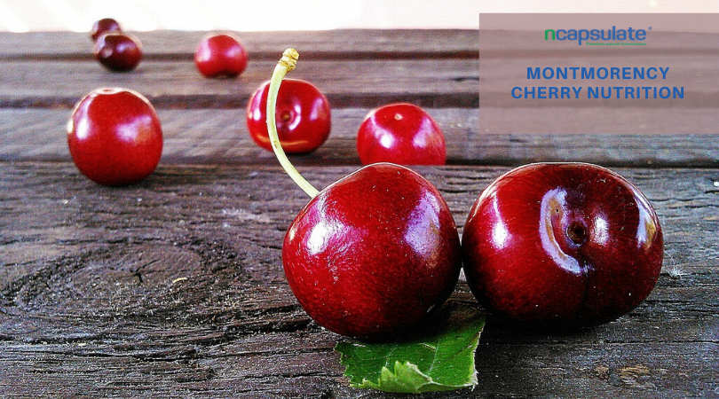 MONTMORENCY CHERRY NUTRITION